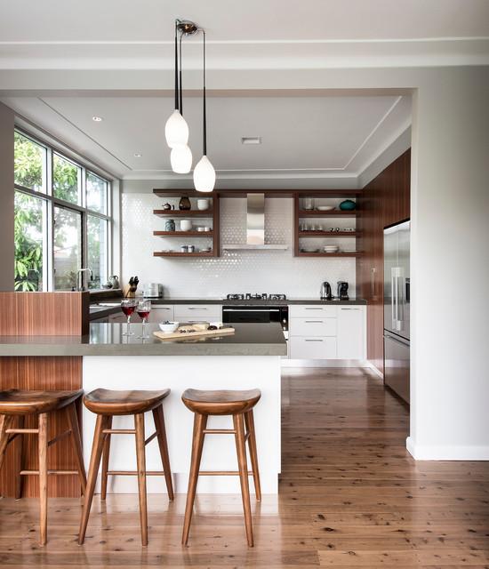 CS Residence contemporary-kitchen