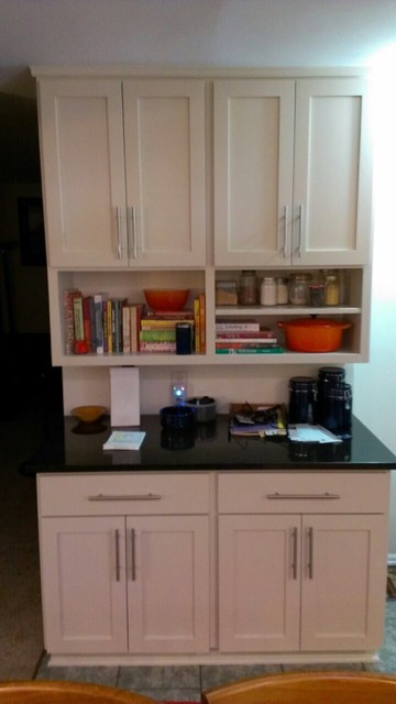 ... reface remodel - Contemporary - Kitchen - Other - by Detail Cabinet