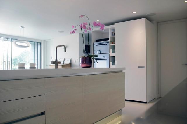 Winter Hill Barn contemporary-kitchen