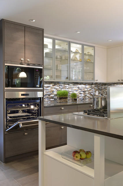 Cucina modern moderne cuisine new york par carol for Houzz cuisine moderne