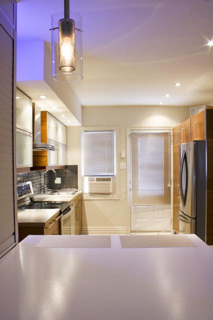 Cuisine & comptoir repas contemporary-kitchen