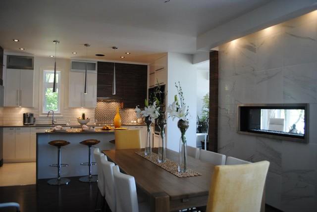 Cuisine contemporary-kitchen
