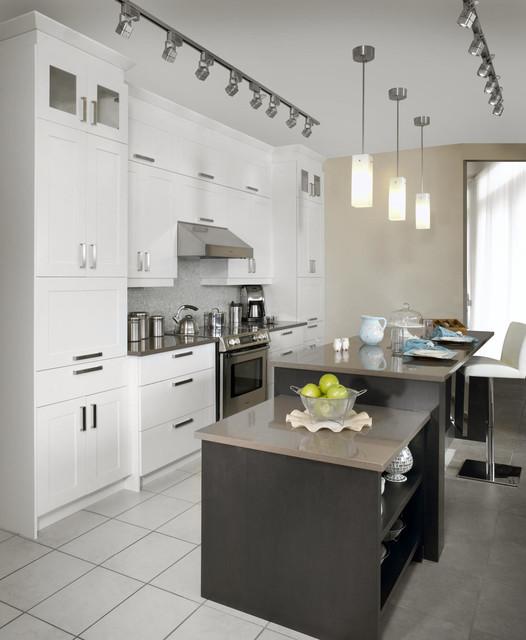 Cuisine en mdf tonalit contemporary kitchen for Armoire cuisine action