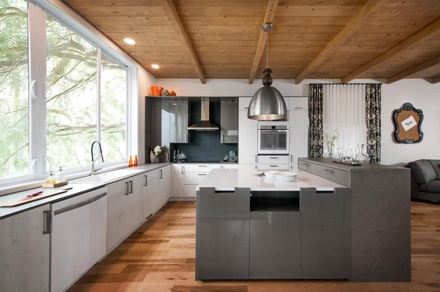 cuisine ma maison rouge canal vie contemporain cuisine. Black Bedroom Furniture Sets. Home Design Ideas