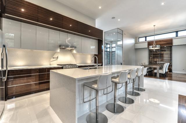 Cuisine \'\'MODERNE\'\' - Modern - Küche - Montreal - von Atelier d ...