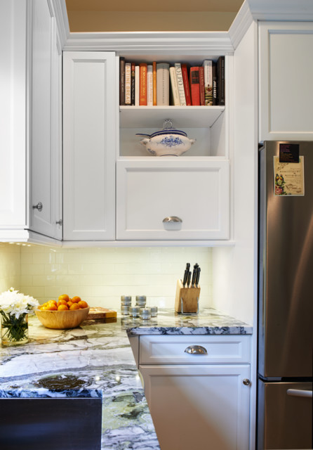 Culinary classic transitional kitchen denver by for Classic kitchen cabinets inc