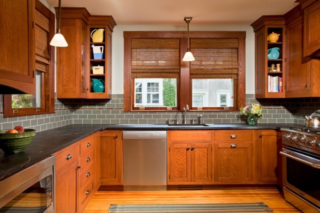 Culinary Craftsman - Traditional - Kitchen - Other - by Teakwood ...
