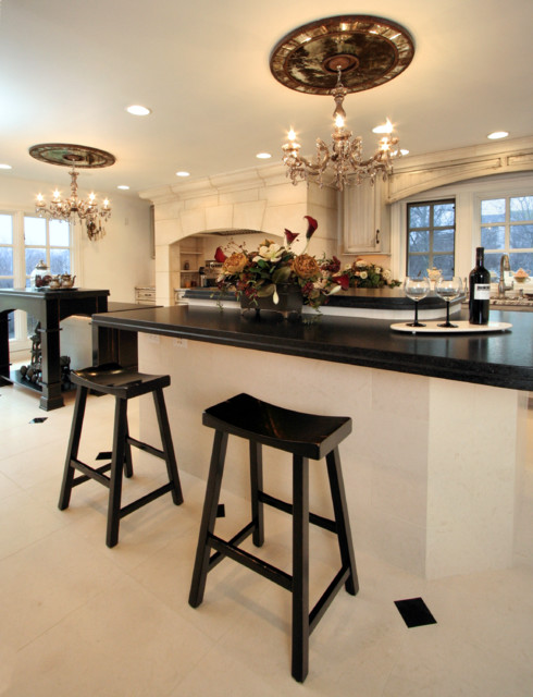Culinary Sophistication traditional-kitchen