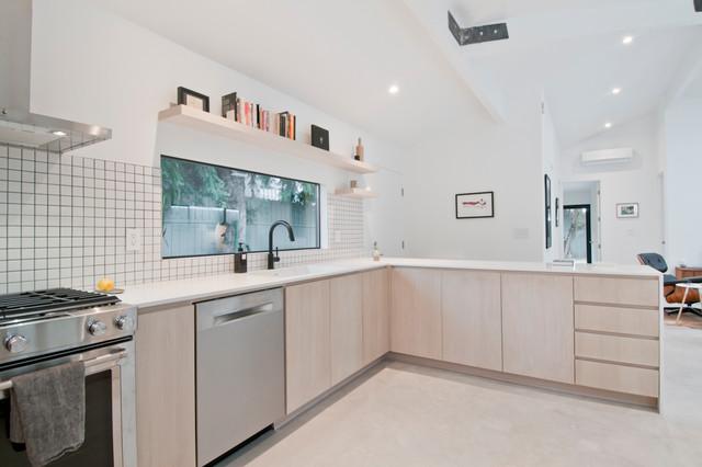 Culver City Complete Remodel Contemporary Kitchen Los