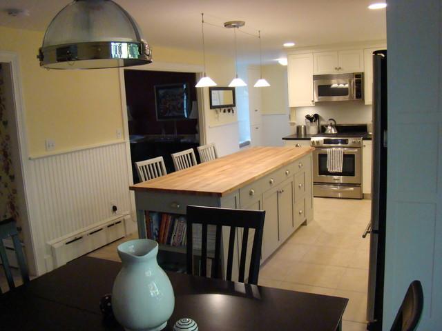 Cumberland Maine Kitchen contemporary-kitchen