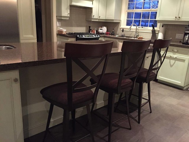 Current kitchen bar stools traditional kitchen other - Traditional kitchen bar stools ...