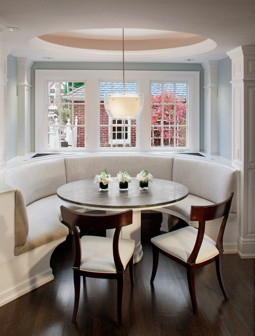 could you tell me the dimensions of the banquette seating? seat height,  seat depth?