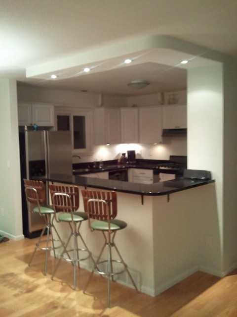 Curved island and soffit - What is a kitchen island ...