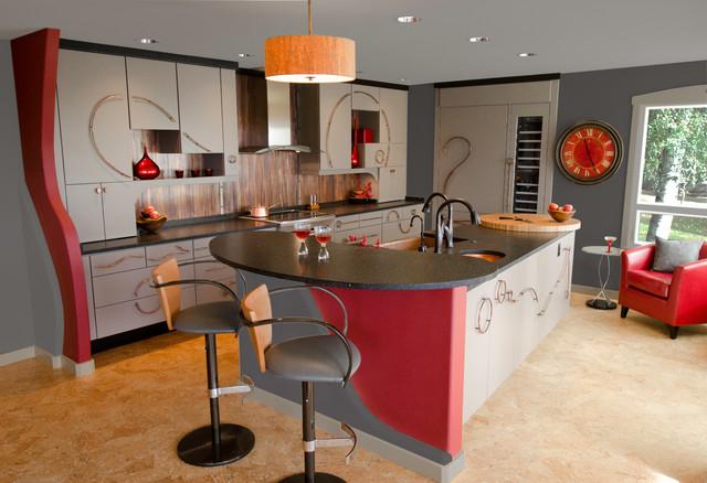 wohnzimmerlampen poco:Art Deco Kitchen Design