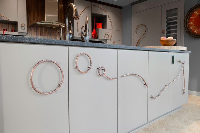 Curves, Copper and Compositions (kitchen)