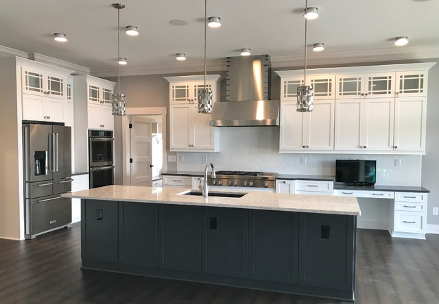 Custom Amish Cabinetry and Waypoint