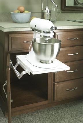 mixer lift under a drawer