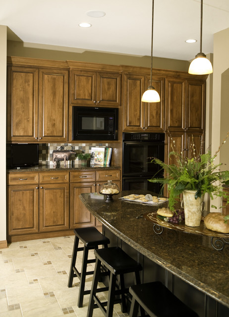Custom Arch Cabinets traditional kitchen