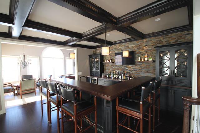 Custom Bar modern-kitchen