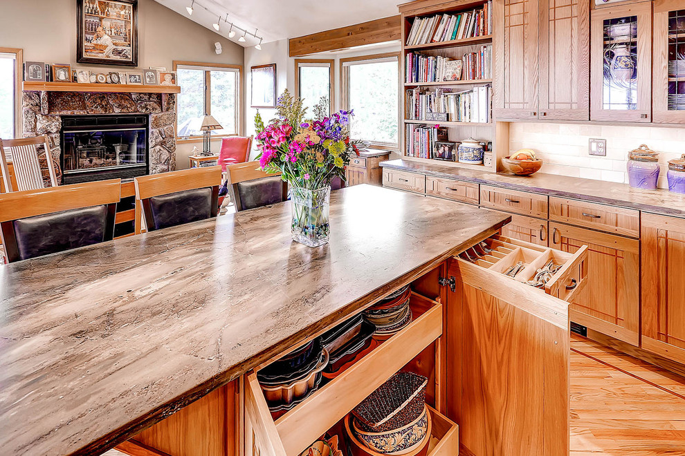 Custom Boulder Kitchen with Creative Amenities - Craftsman ...