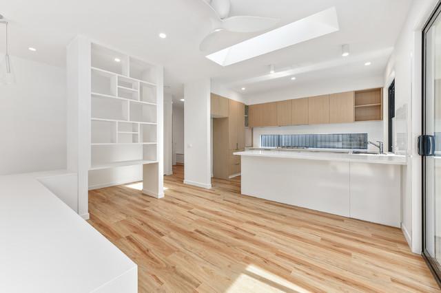 Custom Build Modern Kitchen Melbourne By Genyou
