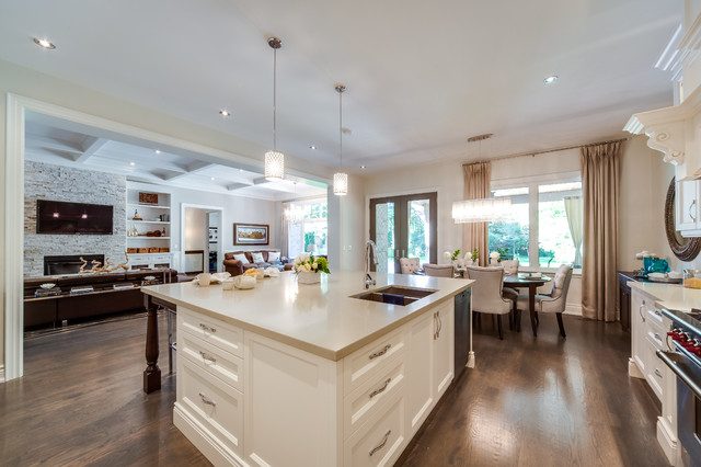 Custom Build Home traditional-kitchen