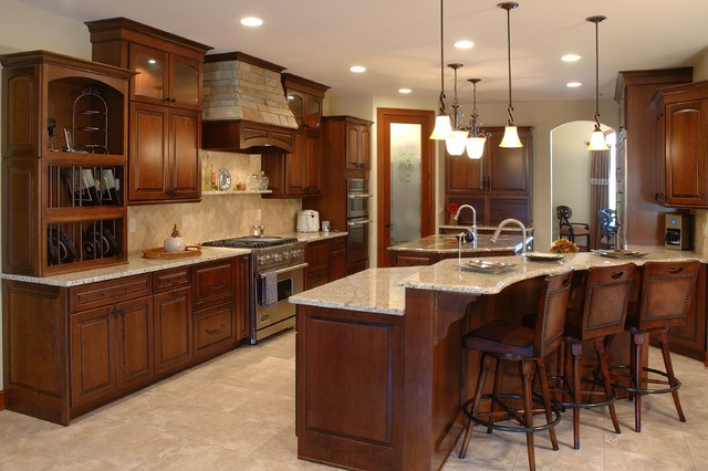 Custom Built Home traditional-kitchen