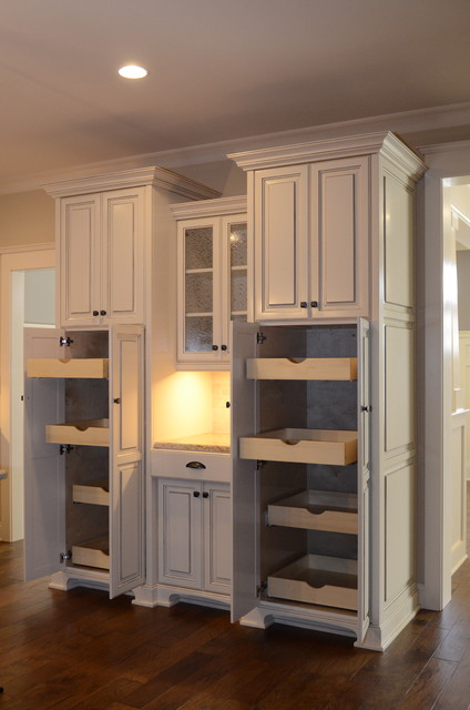 custom built in pantry traditional kitchen other