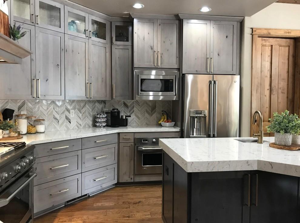 Custom Built Kitchen Cabinets - Transitional - Kitchen ...
