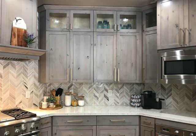 Custom Built Kitchen Cabinets Transitional Kitchen Atlanta By Kitchen Tune Up Atlanta Roswell Houzz Uk