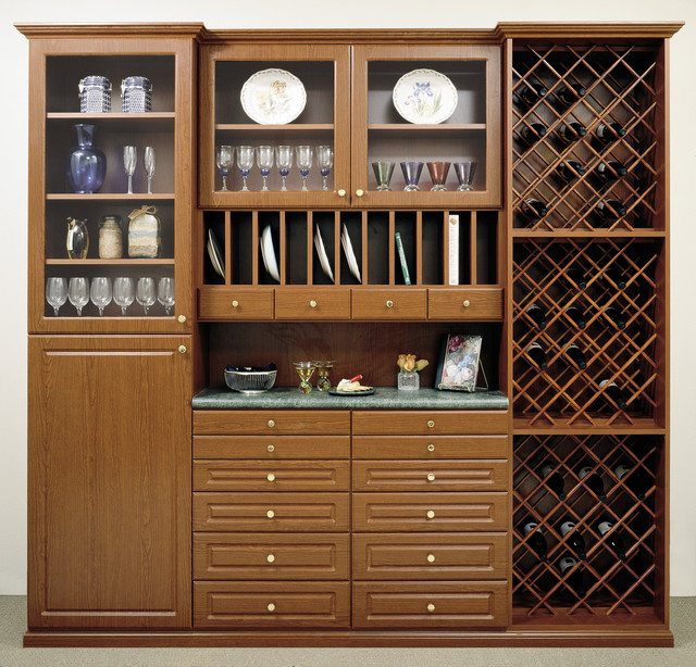 Custom Bulter Pantry Kitchen Orange County By Closets By Design
