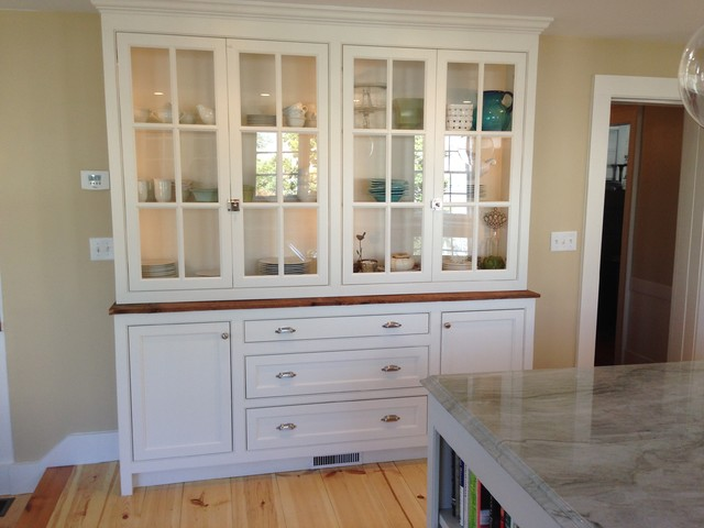 custom cabinet hutch with reclaimed wood counter rh houzz com kitchen hutch cabinet plans kitchen china cabinet hutch