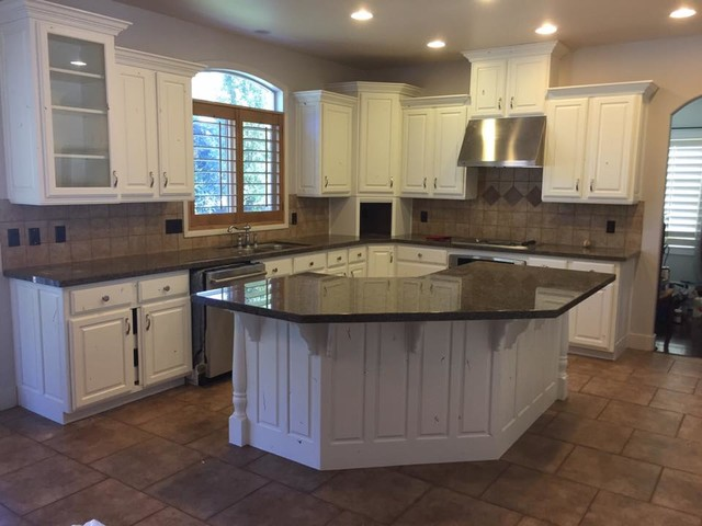 Custom cabinet refinishing for Kitchen cabinets 4 less