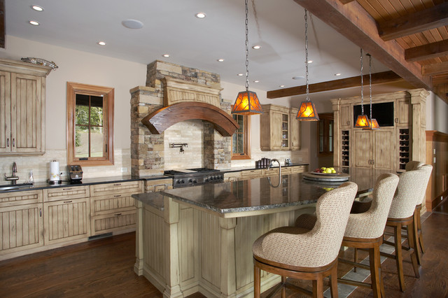 Kitchen design atlanta bath furniture guild bauformat for Post and beam kitchen ideas