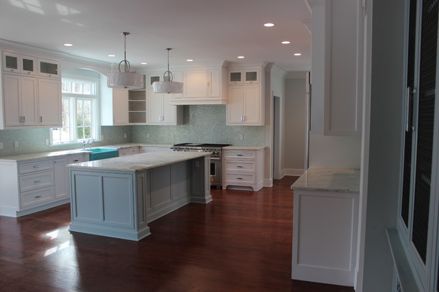 Custom cabinetry for new home traditional-kitchen