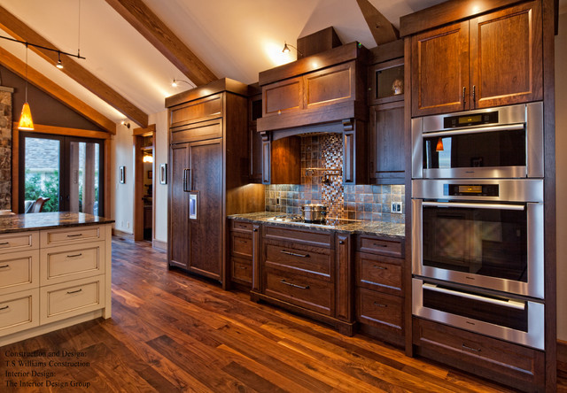 Custom cabinetry traditional kitchen vancouver by for Kitchen cabinets vancouver island