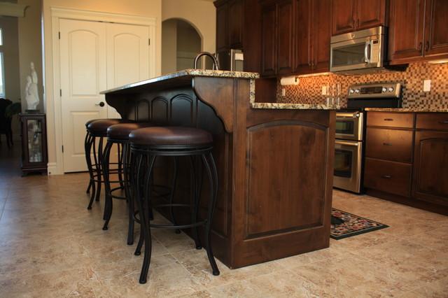 custom cabinets summit view kennewick wa traditional kitchen