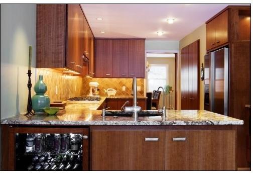 modern cherry kitchen cabinets. Modern Cherry Kitchen Cabinets
