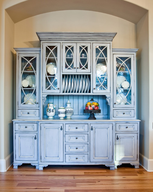 Custom China Hutch - Traditional - Kitchen - charleston ...