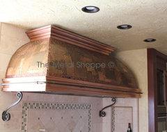 Custom Copper Kitchen Hood kitchen