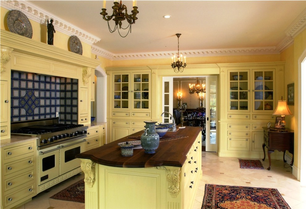 Custom Country Home - Suffield, CT - Traditional - Kitchen ...