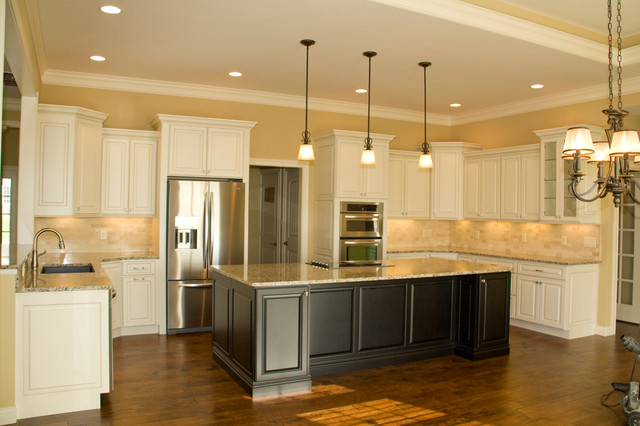 traditional kitchen indianapolis by lensing home showroom
