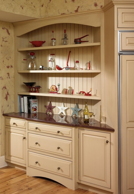 Custom Curio Hutch Traditional Kitchen Other By