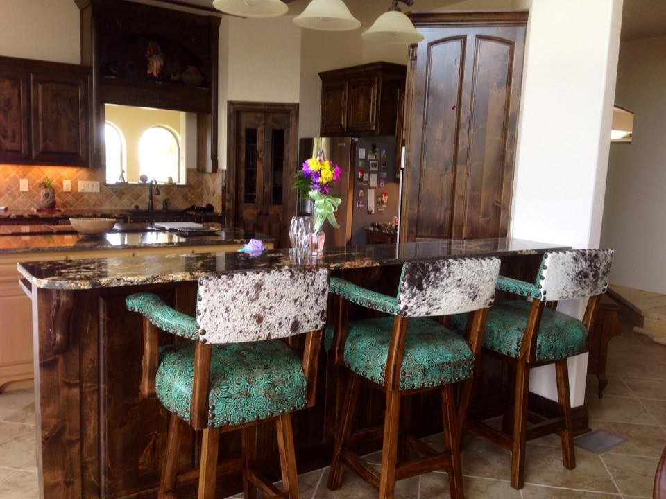 Chairs Rustic Kitchen, Cowhide Western Furniture Reviews