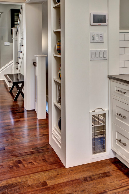 Custom dog crate - Craftsman - Kitchen - seattle - by ...