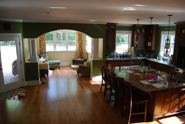 Custom Dream Home Built for a Family of 7 traditional-kitchen