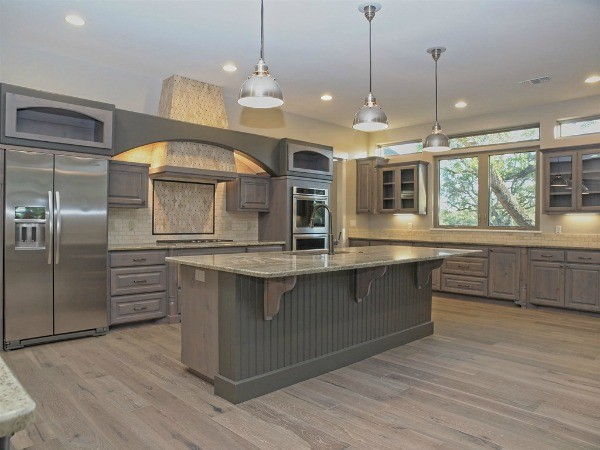 Custom French Country Transitional Kitchen Austin