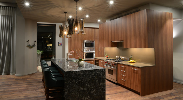 Custom Furniture And Interiors Modern Kitchen Atlanta By Jeffrey Bruce Baker Designs