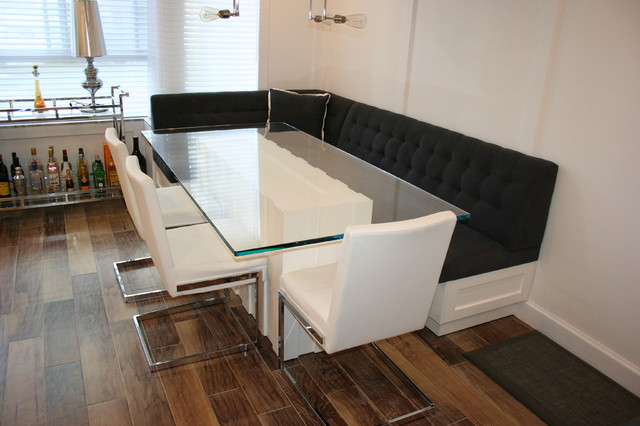 Custom Glass Dining Table Modern Kitchen Toronto By Ideal Sofa