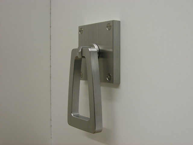 Custom Hardware Projects-Modern Barn Door Pull Handle - Contemporary - Kitchen - San Francisco ...